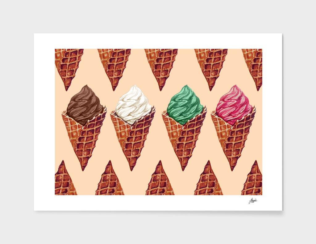 Vintage Ice Cream Tiles