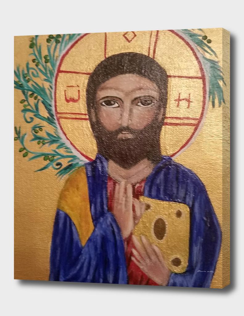 Christ Bizantine piece