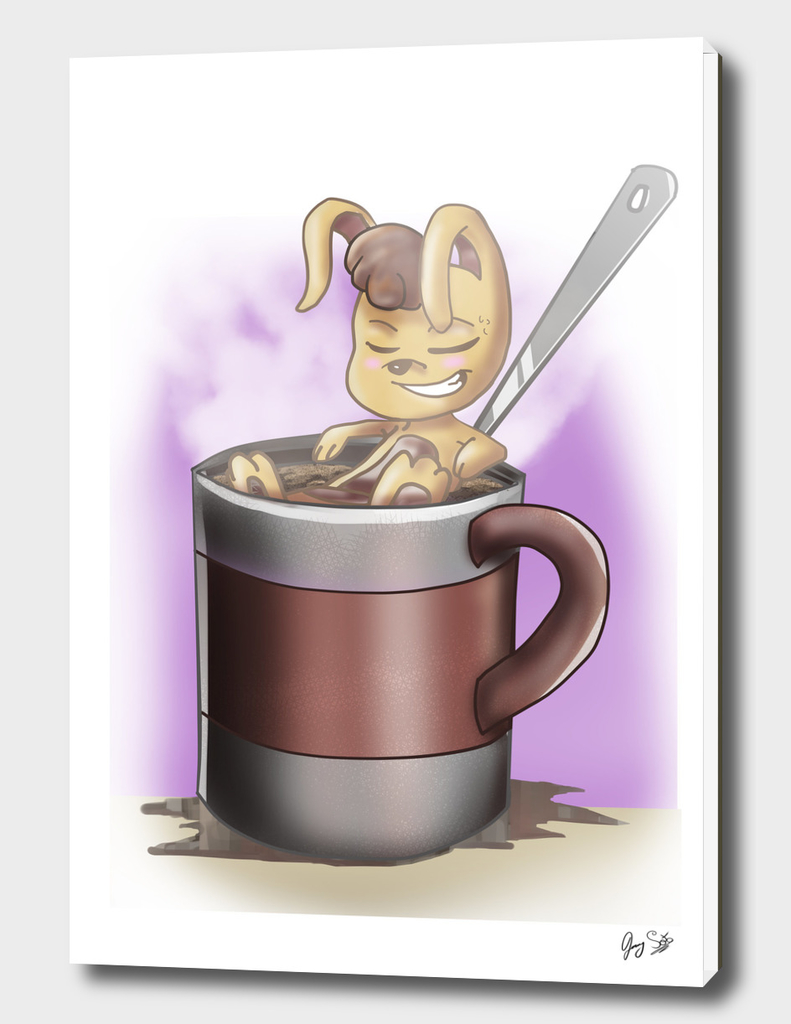 Felix the Coffee Bunny