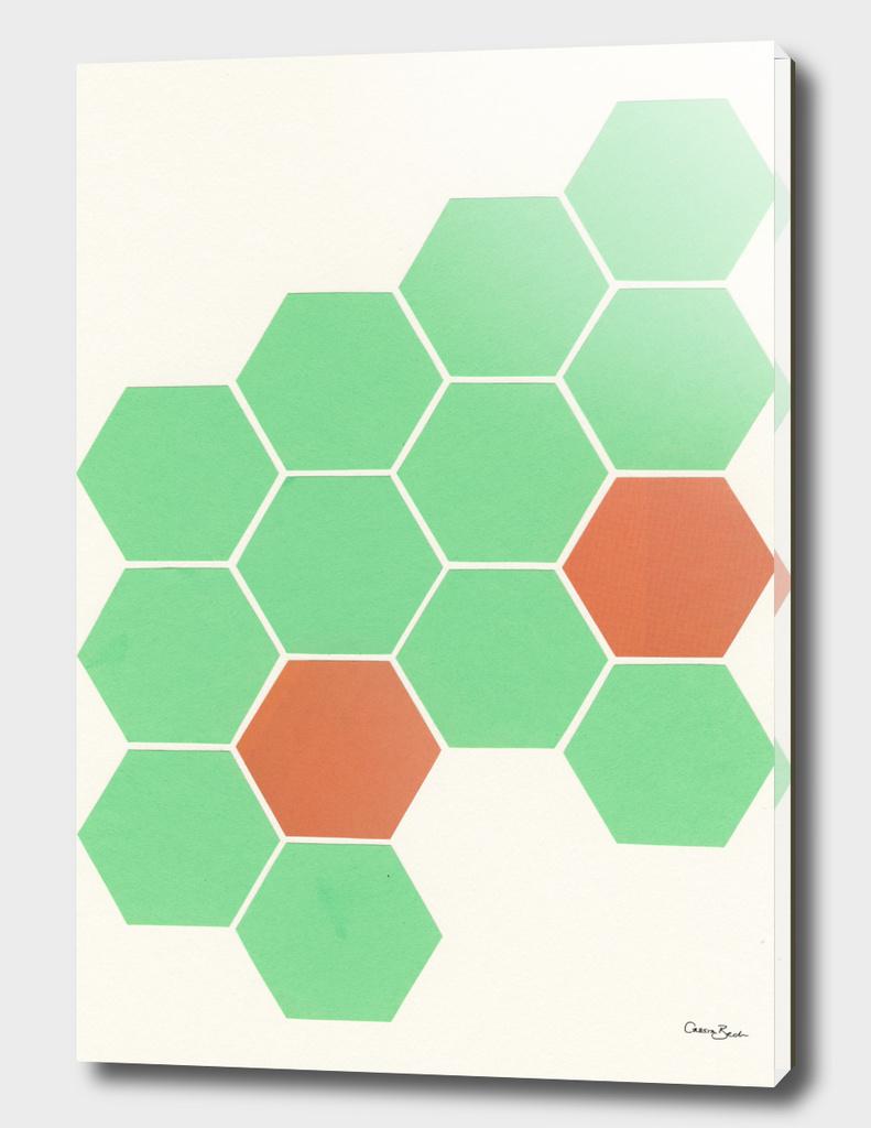 Mint Honeycomb