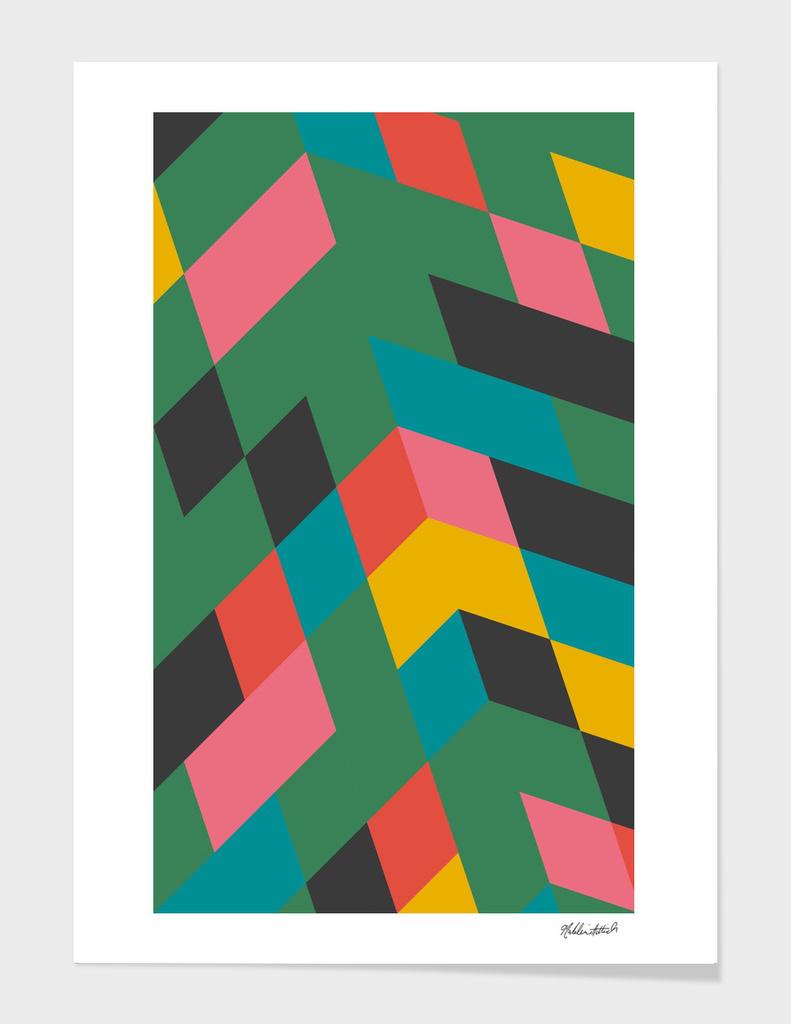 Geometric Poster 17