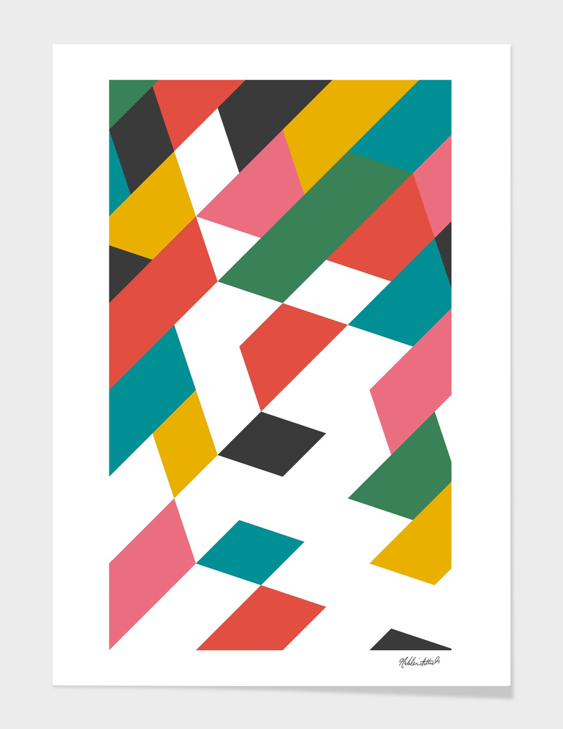 Geometric Poster 18