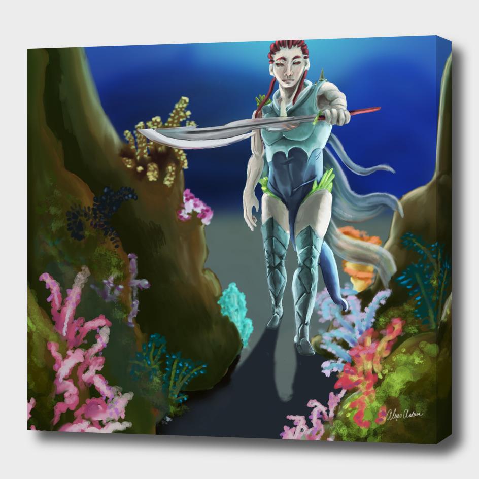 Coral Warrior
