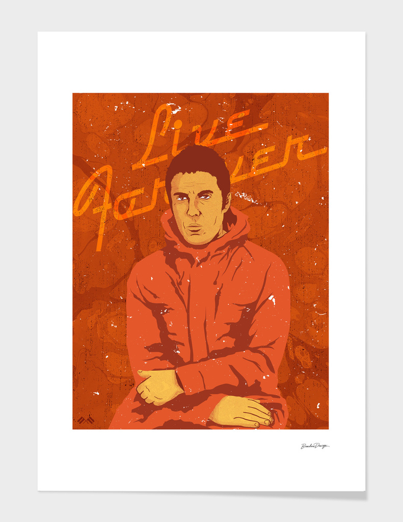 Liam Gallagher Live Forever