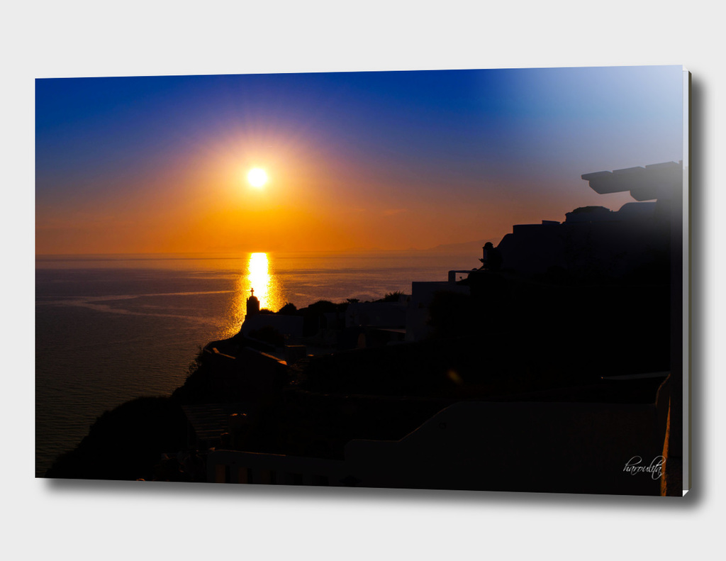 Sunset in Oia x