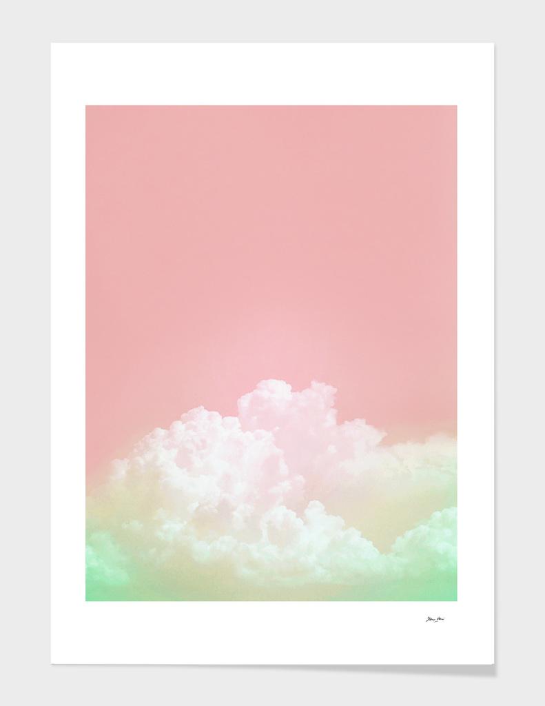 Dreamy Watermelon Sky