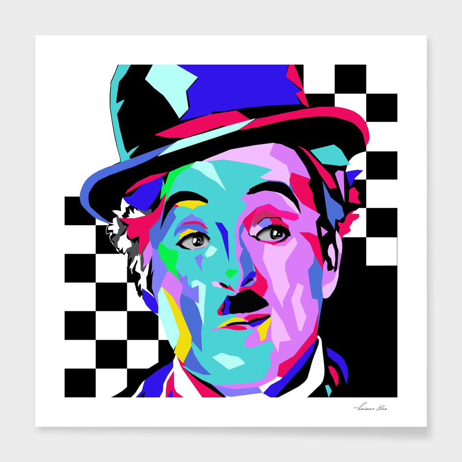 Charlie Chaplin - 300dpi