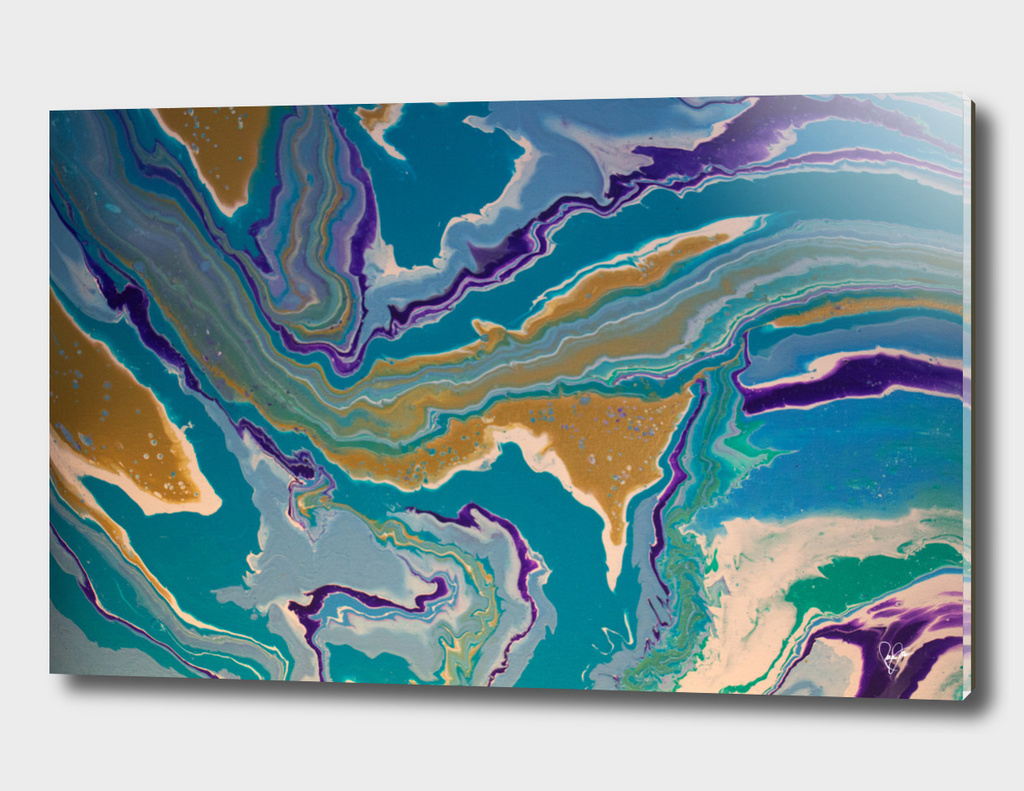 abstract world map