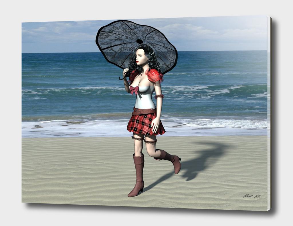 Beachgirl 4k
