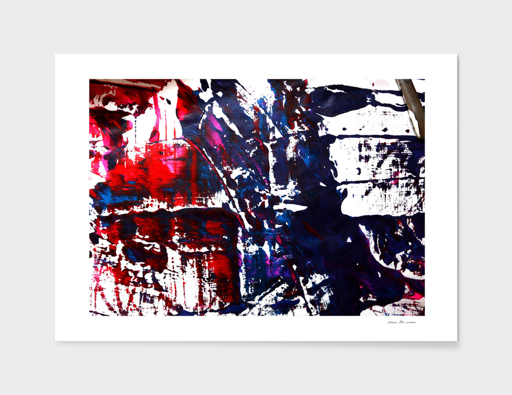 blue and red highways