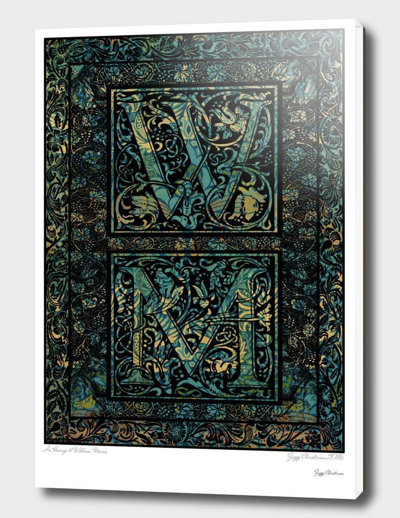 William Morris Head Mash (Veridian Edition)