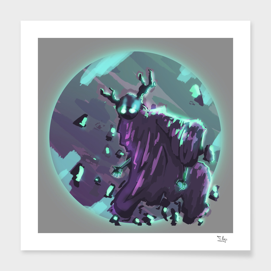 Soulless spirit print