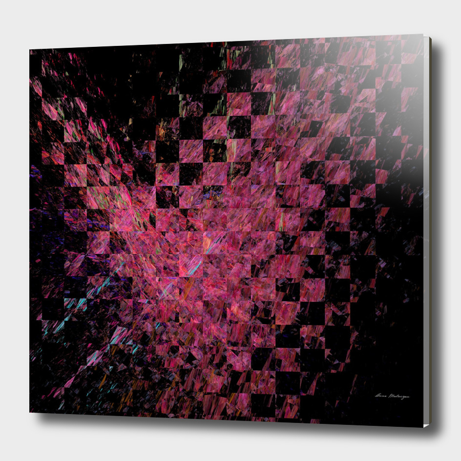 Fractal with abstract heart