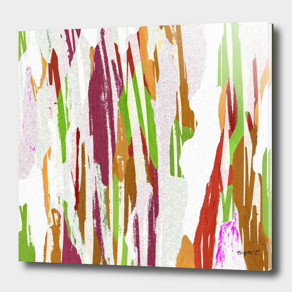 Abstract Rainbow Splash Design
