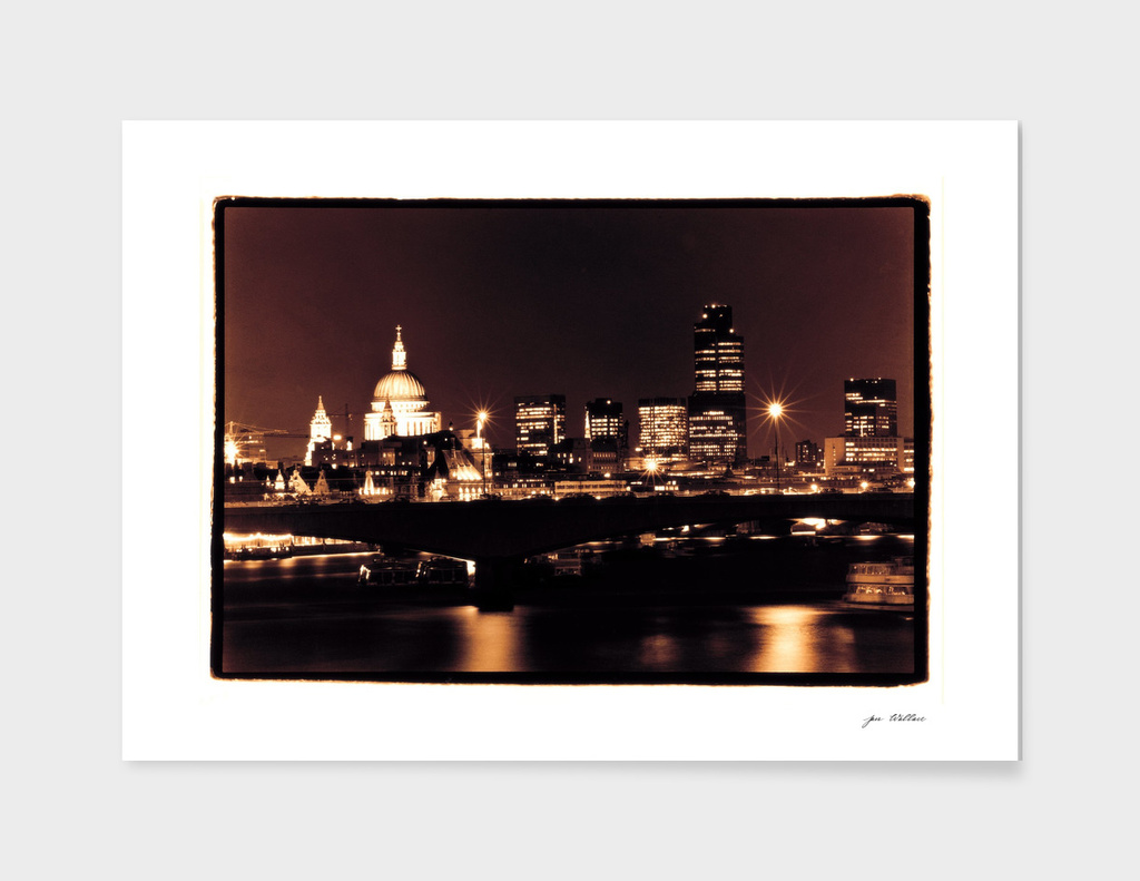 London night skyline