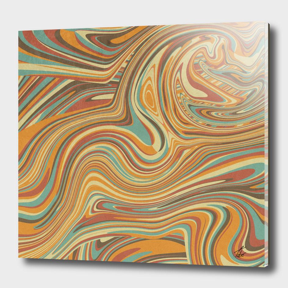 Rainbow Marble Organic Texture