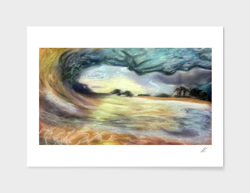 Beach Sunset (Large Versions)