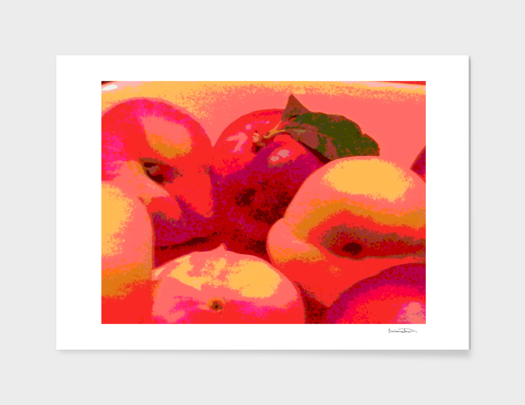 Glowing Apples