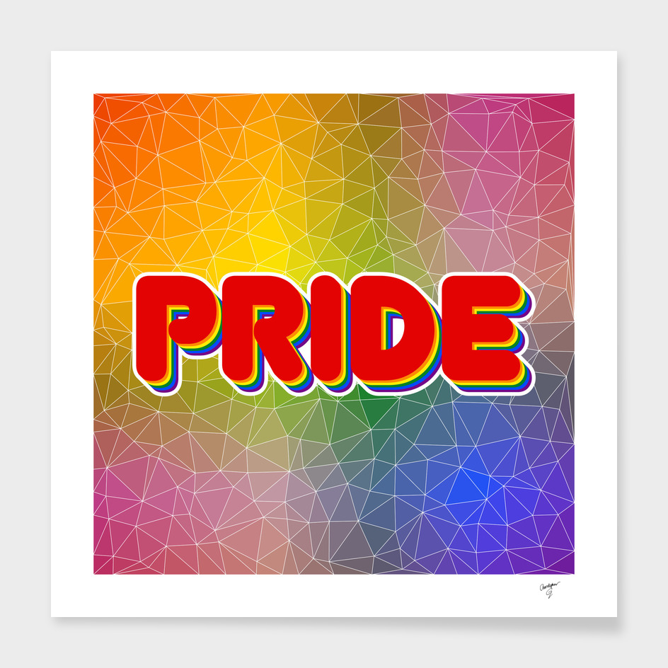 Triangular Rainbow Pride