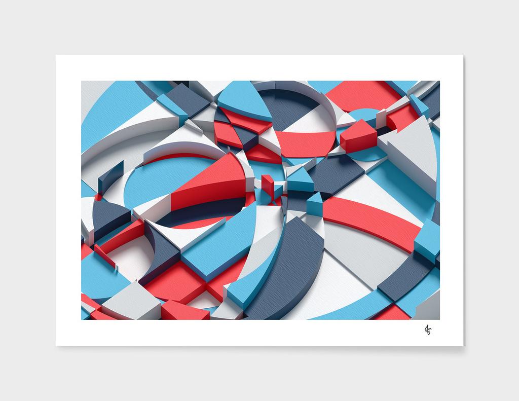 Colorful Blocks 1 - landscape