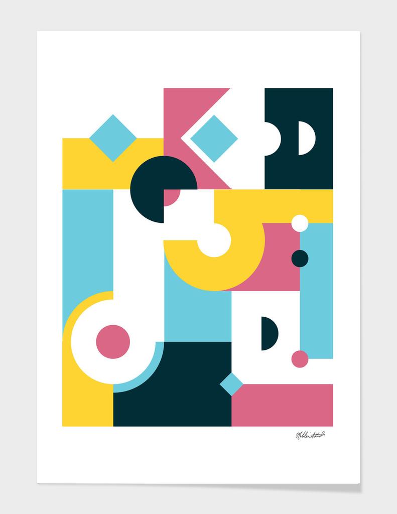 Geometric Poster 28