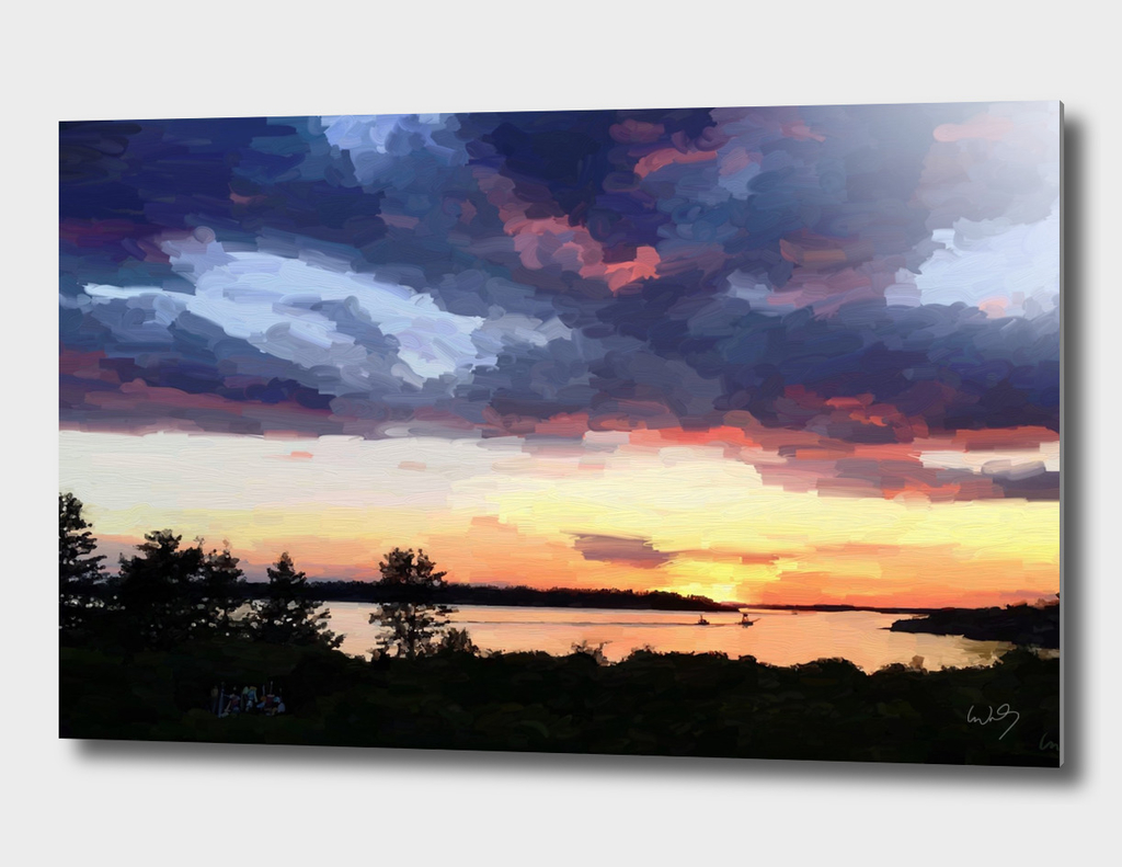 Sunset from Jaquish