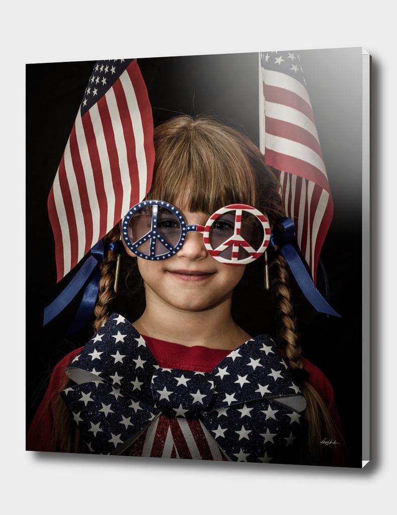 Flag Girl