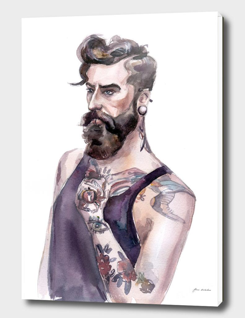 Domenik Berberich Tattoo Model