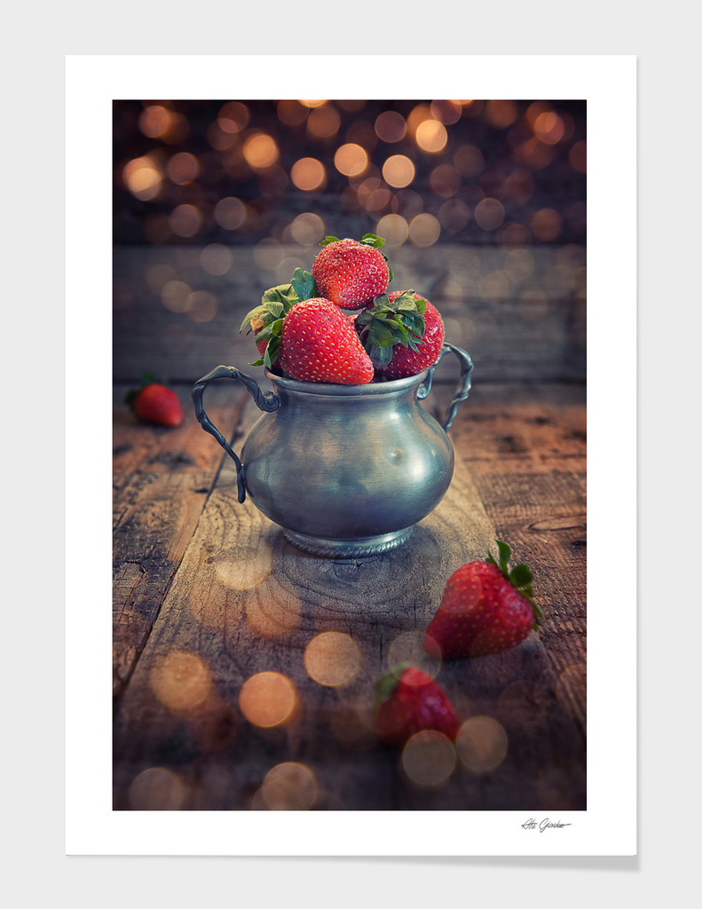 Strawberries cup