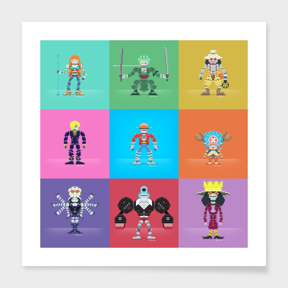 OnePiece 16-bit Robots