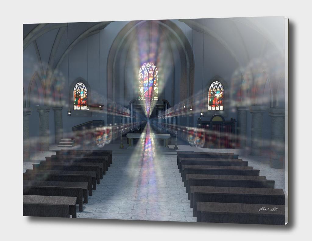 church kirchenraum 4k