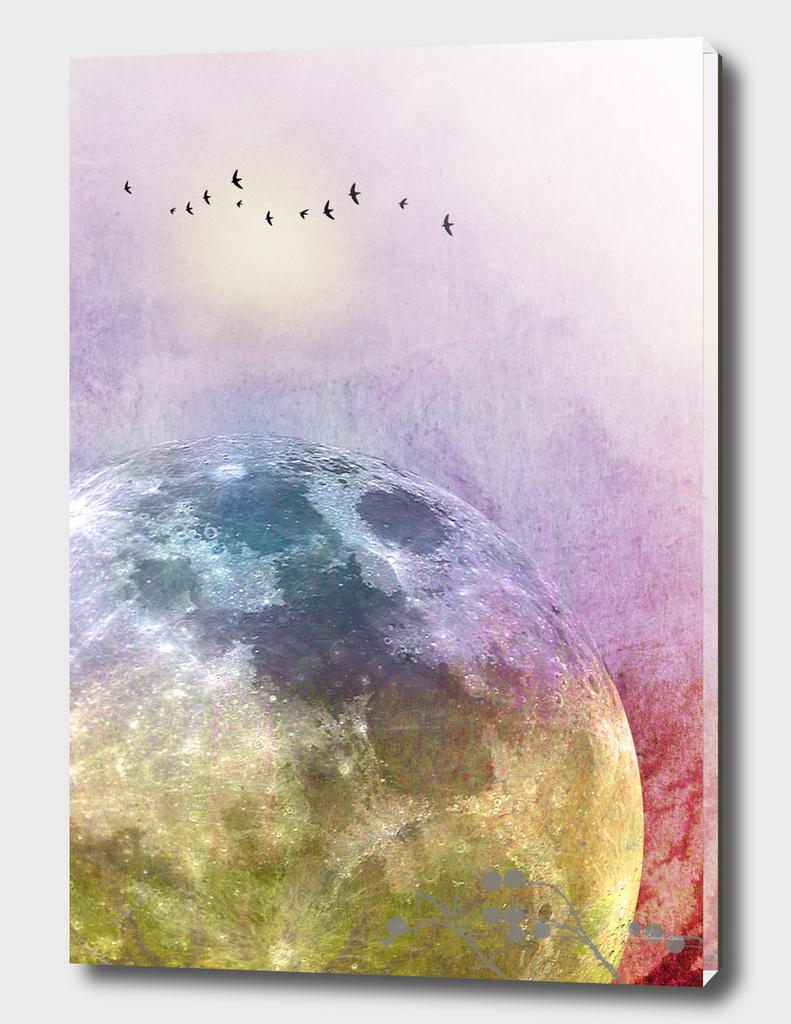 MOON under MAGIC SKY III-A