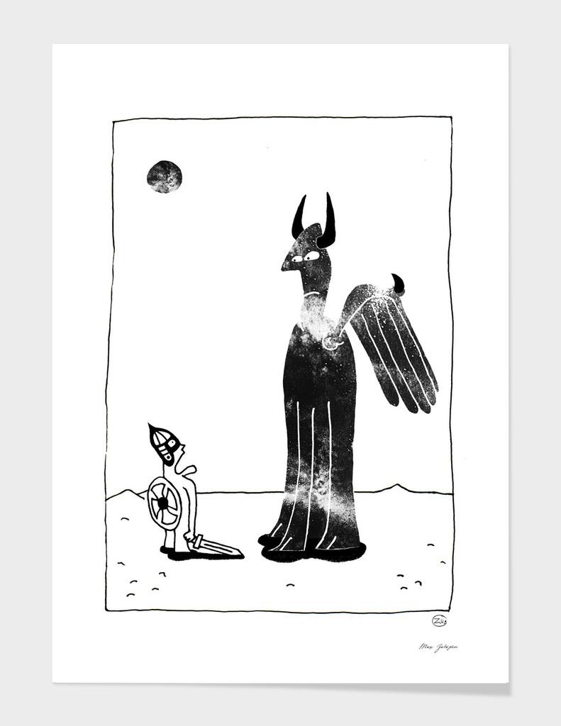 Meeting in the desert