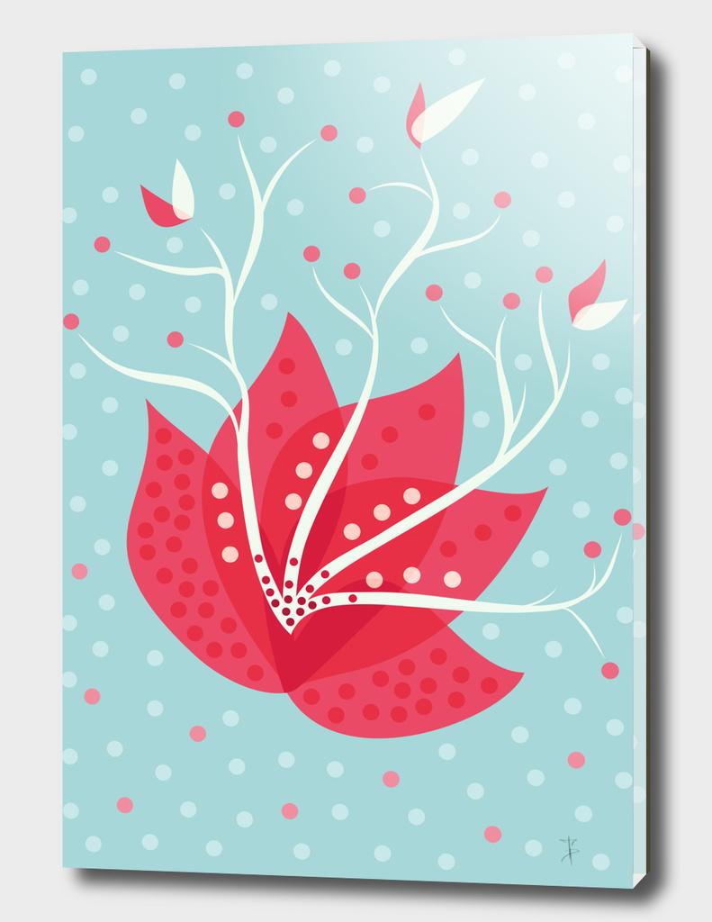 Exotic Winter Flower