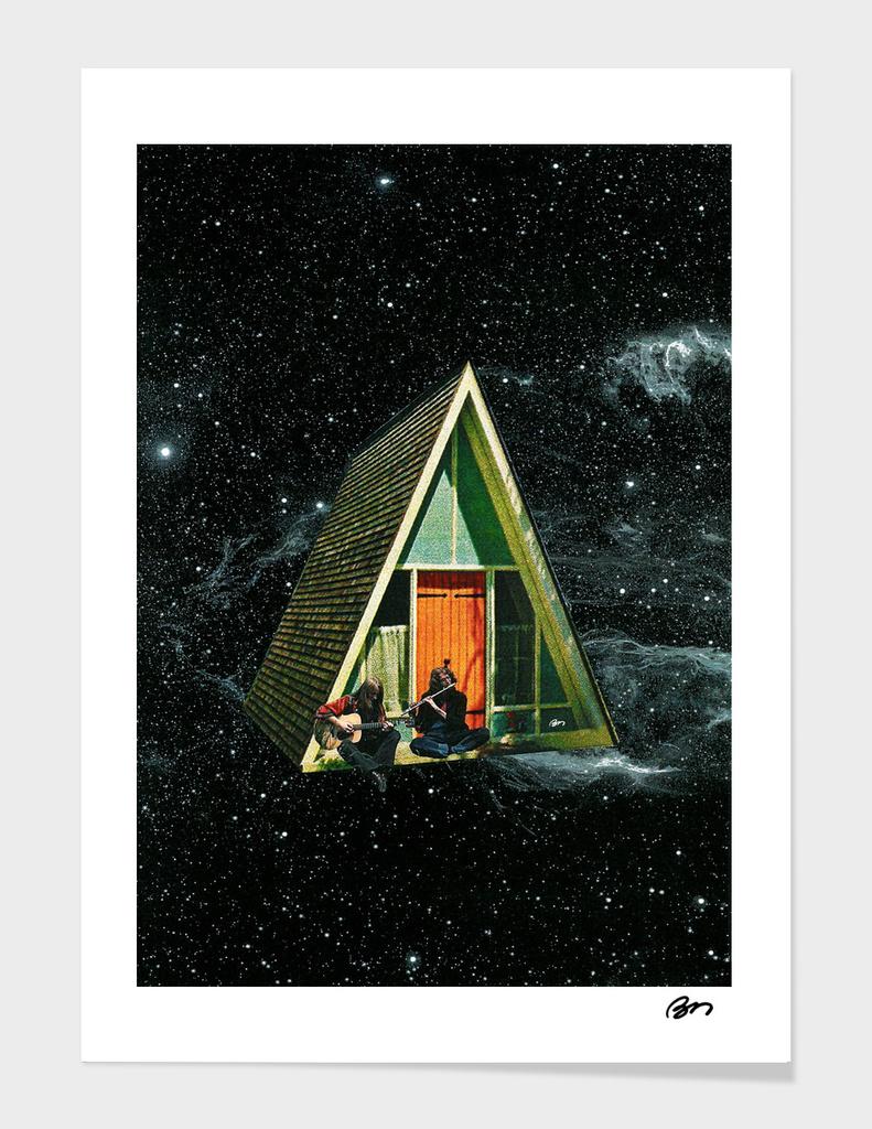Uma casa no espaço