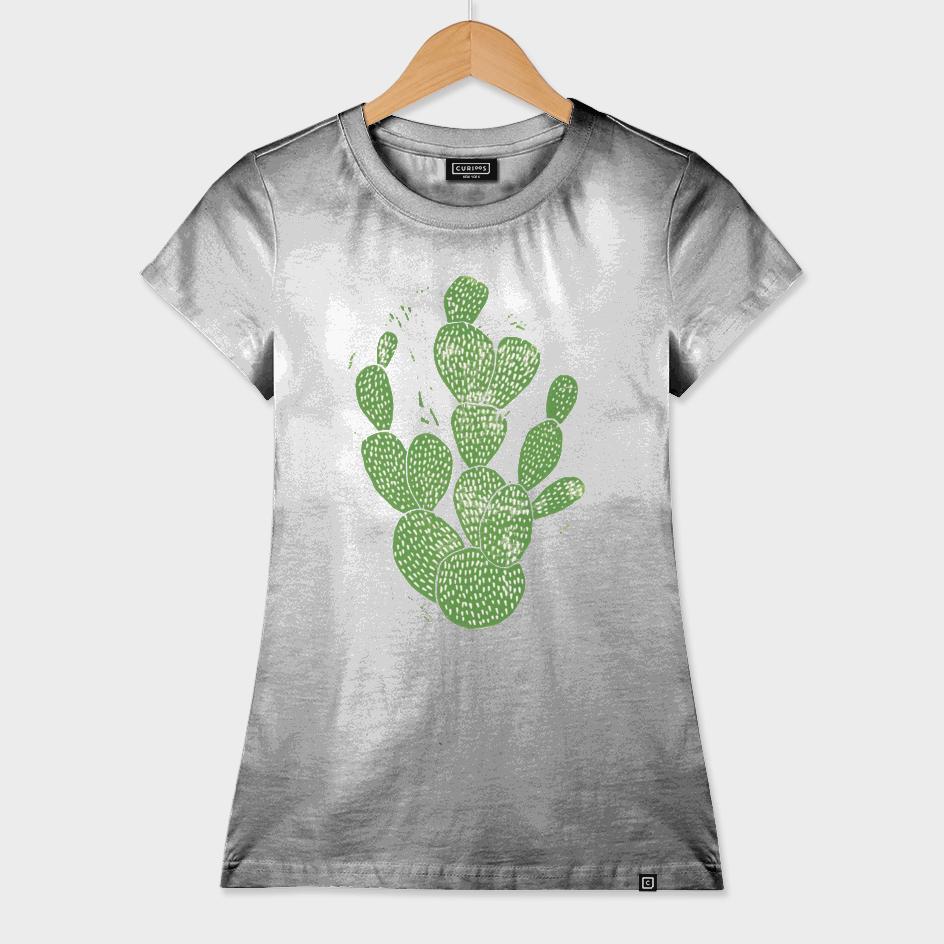 Linocut Cacti