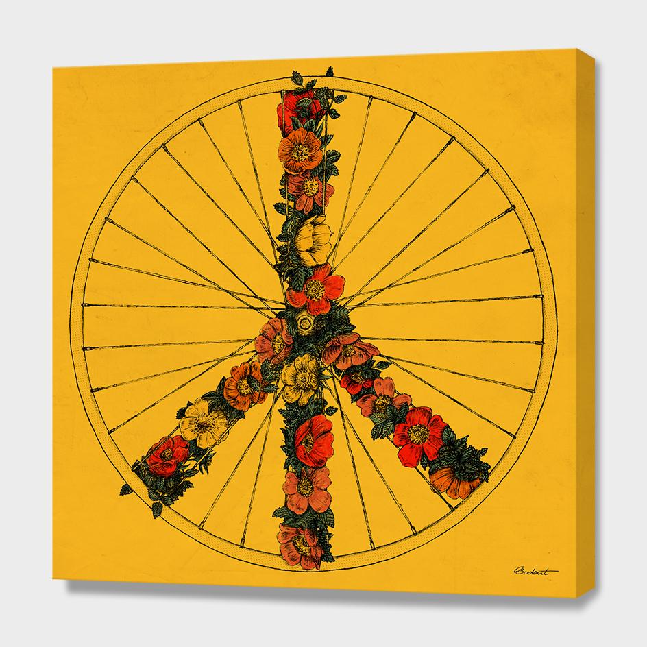 Peace & Bike (Colors)