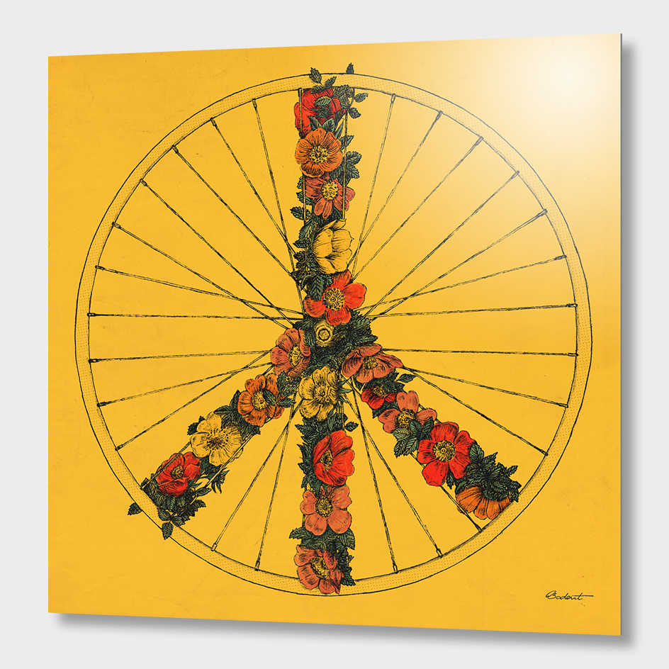 Peace & Bike (Colors)