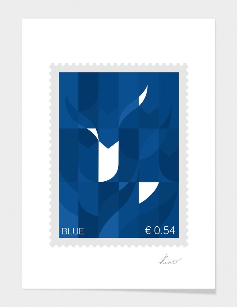 Blue Stamp