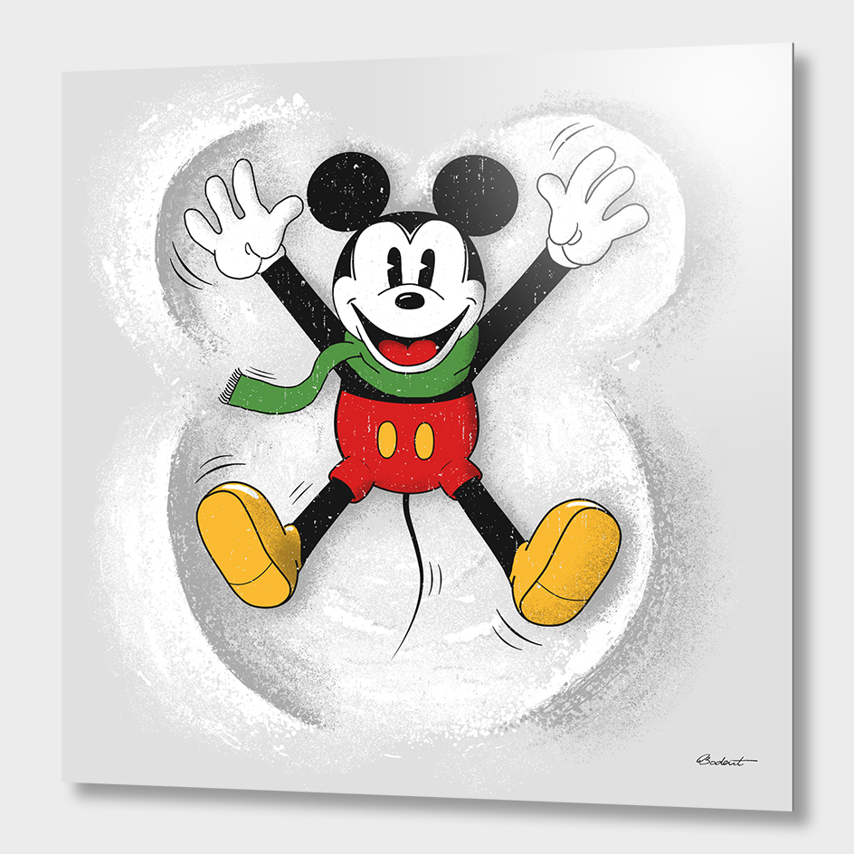 Snow Mickey