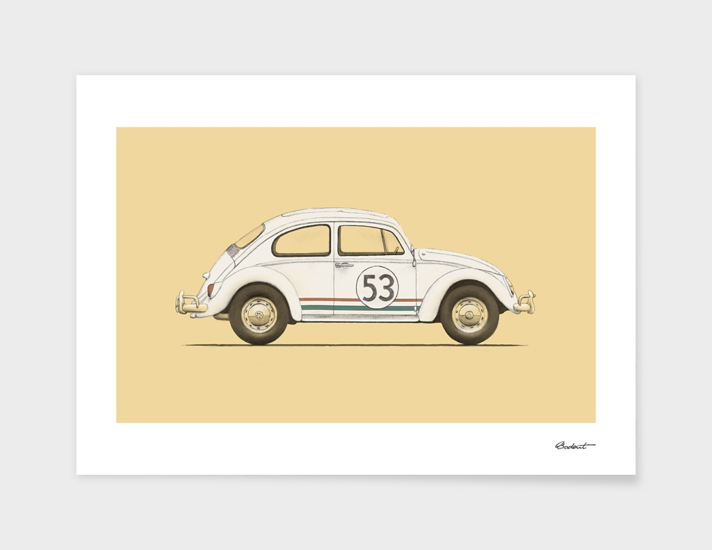 Famous Car #4 - VW Beetle
