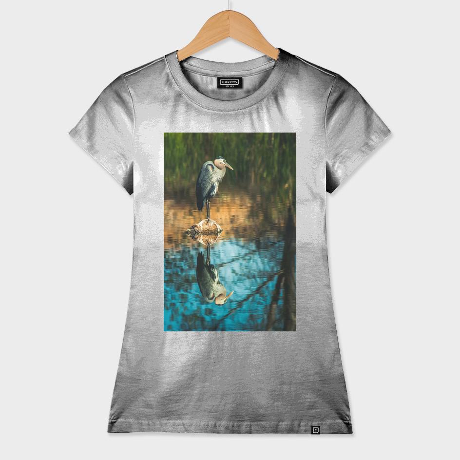 Heron My Stump