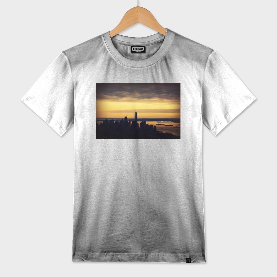 NY Skyline Sunset