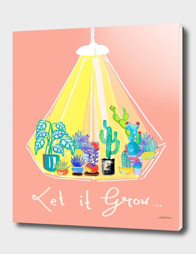 Let it grow - Illustration