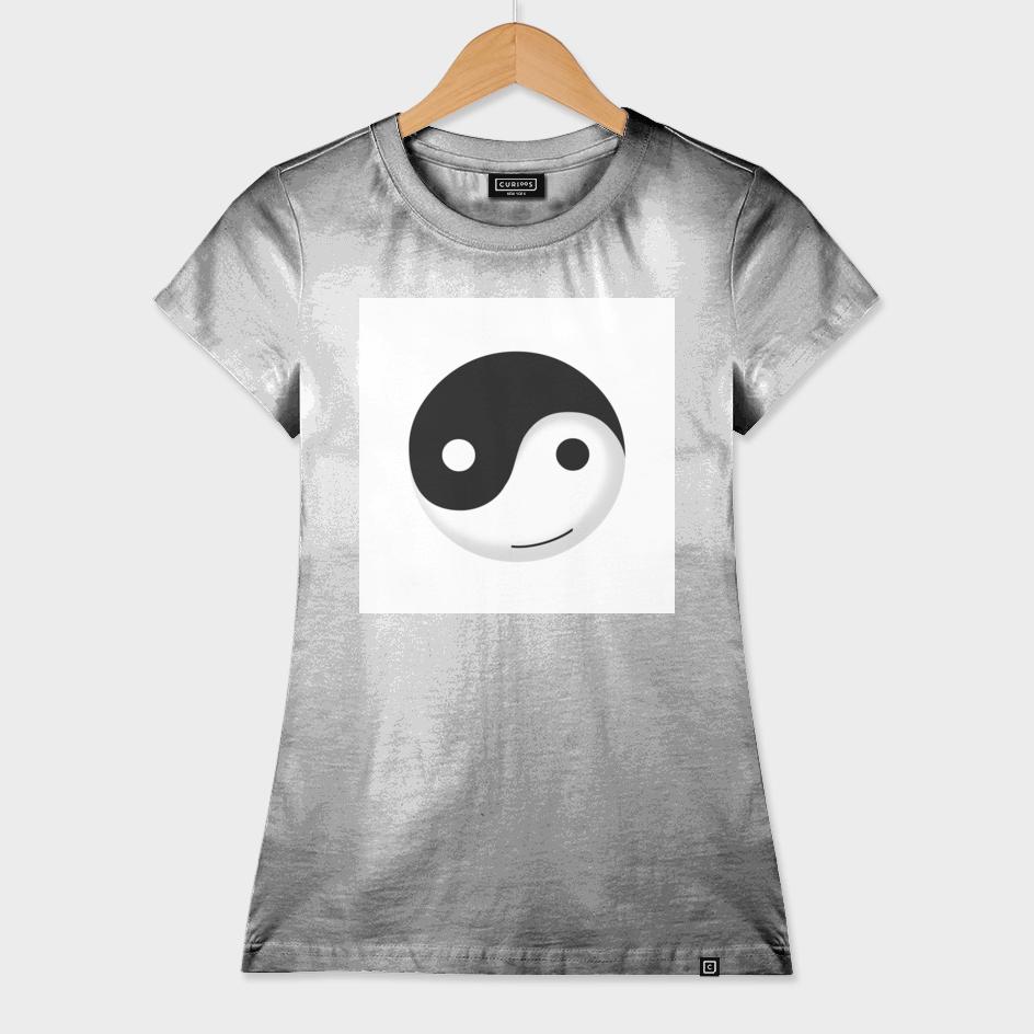 yin yang  smiley