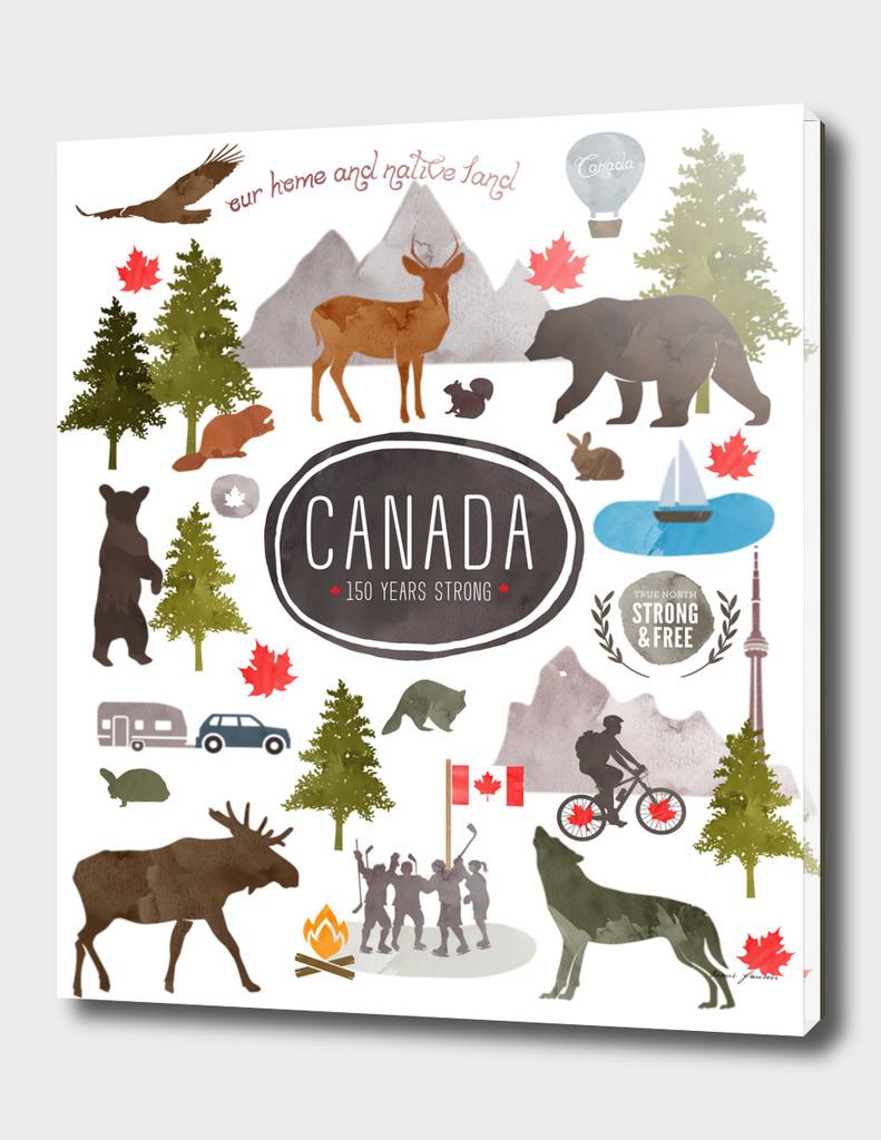 Canadian Watercolour