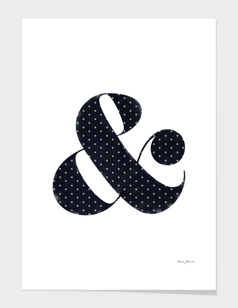 Polka Vintage Ampersand
