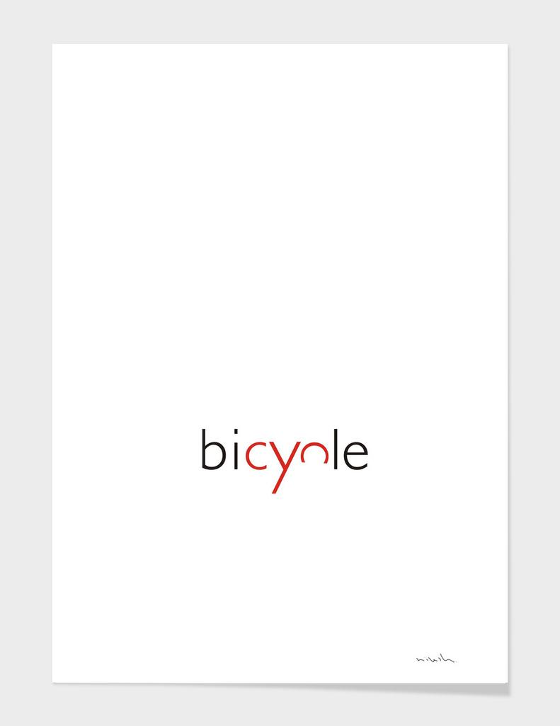 Bicycle Typo