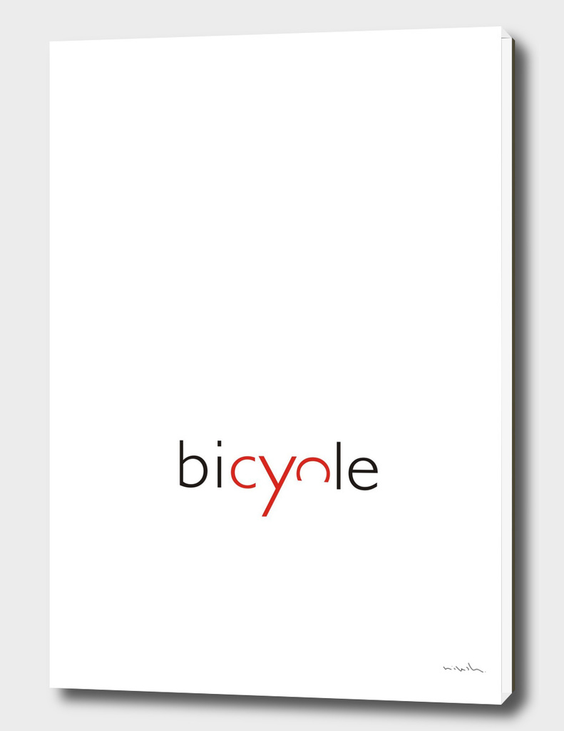 Bicycle Typo
