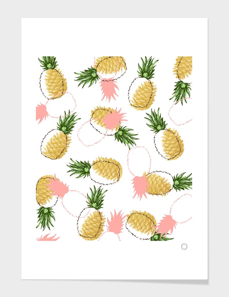 Pineapples & Pine Cones